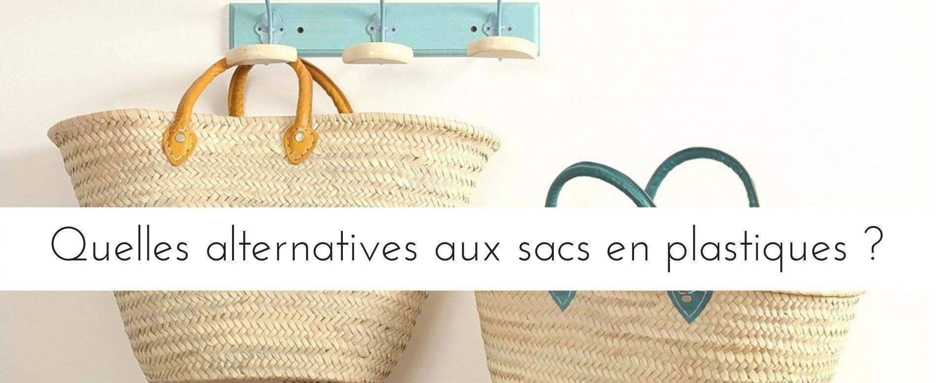 Quelles alternatives aux sacs en plastiques bandeau